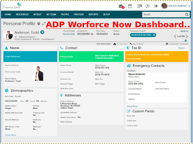 ADP Workforce Now Login