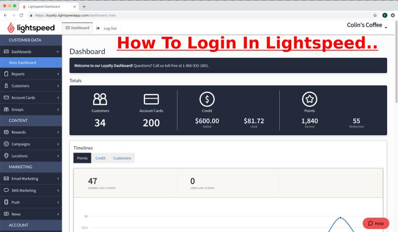 Lightspeed Login Online