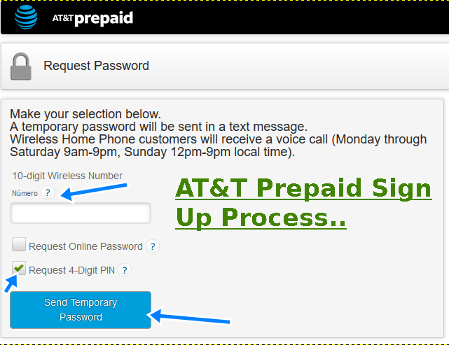 at&t prepaid sign up