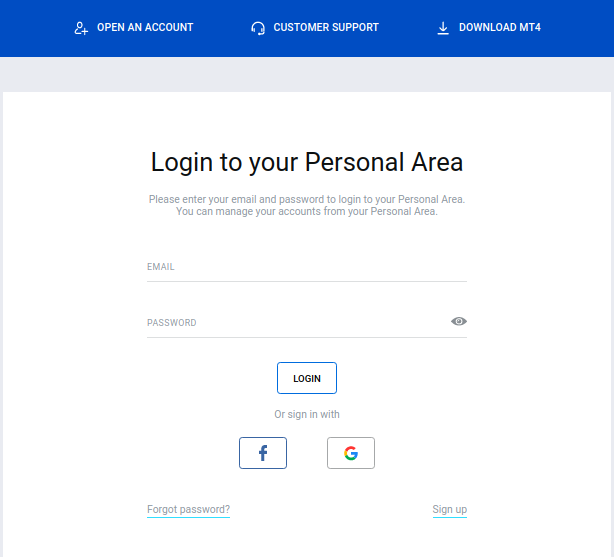 How to login in octa forex