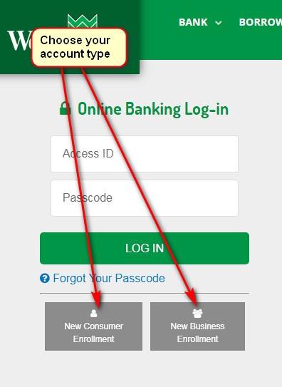 wesbanco online banking login