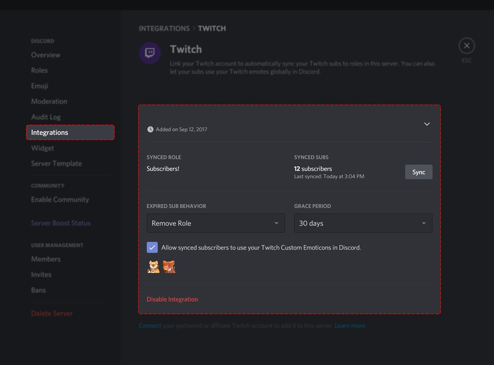 How to Link Twitch Account to Discord for Subscriber