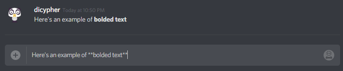 How to bold text on Discord?