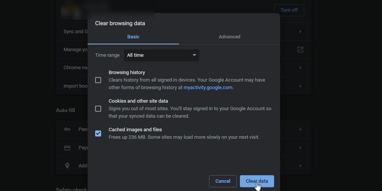 How to clear Discord Cache from a Web Browser