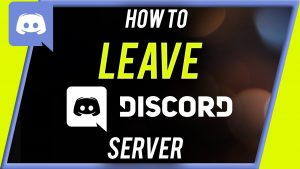 How to Leave Discord Server Through Mobile & PCs
