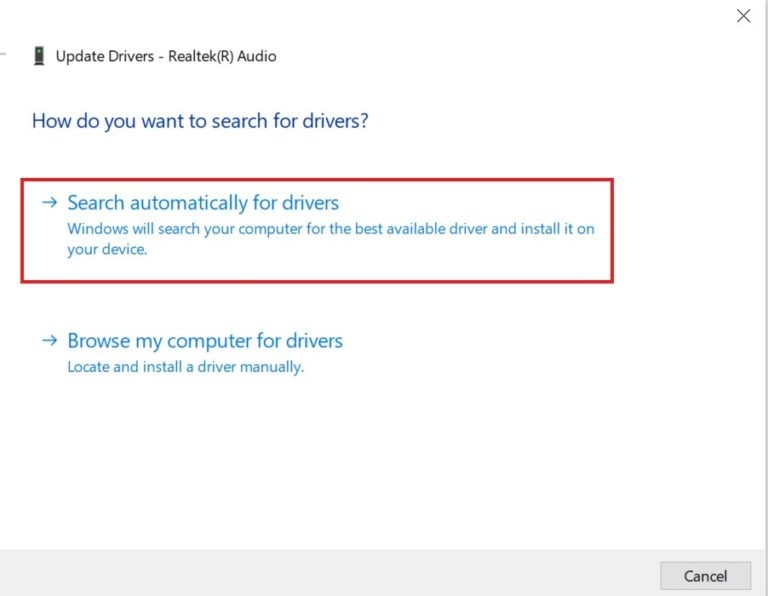 Update your PC audio driver.