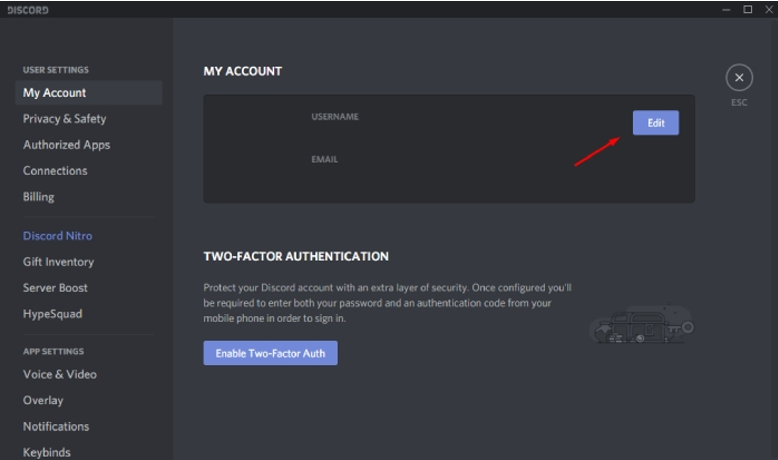 How to Delete Discord account on PC